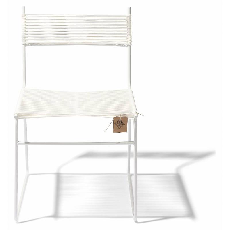 Polanco dining chair sled leg white Fair Furniture 2