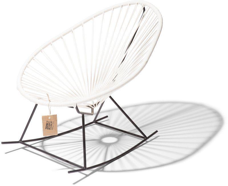 Baby Schommel Bed.Baby Acapulco Rocking Chair White Fairfurniture Com