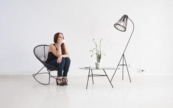 Set up Fair Furniture Kahlo lamp and Zahora table