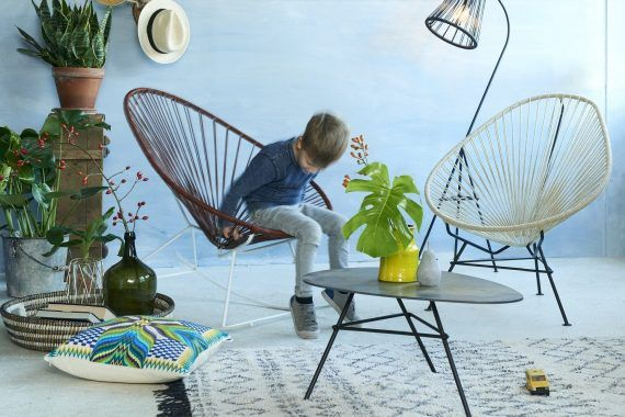 Lederen schommelstoel Fair Furniture header
