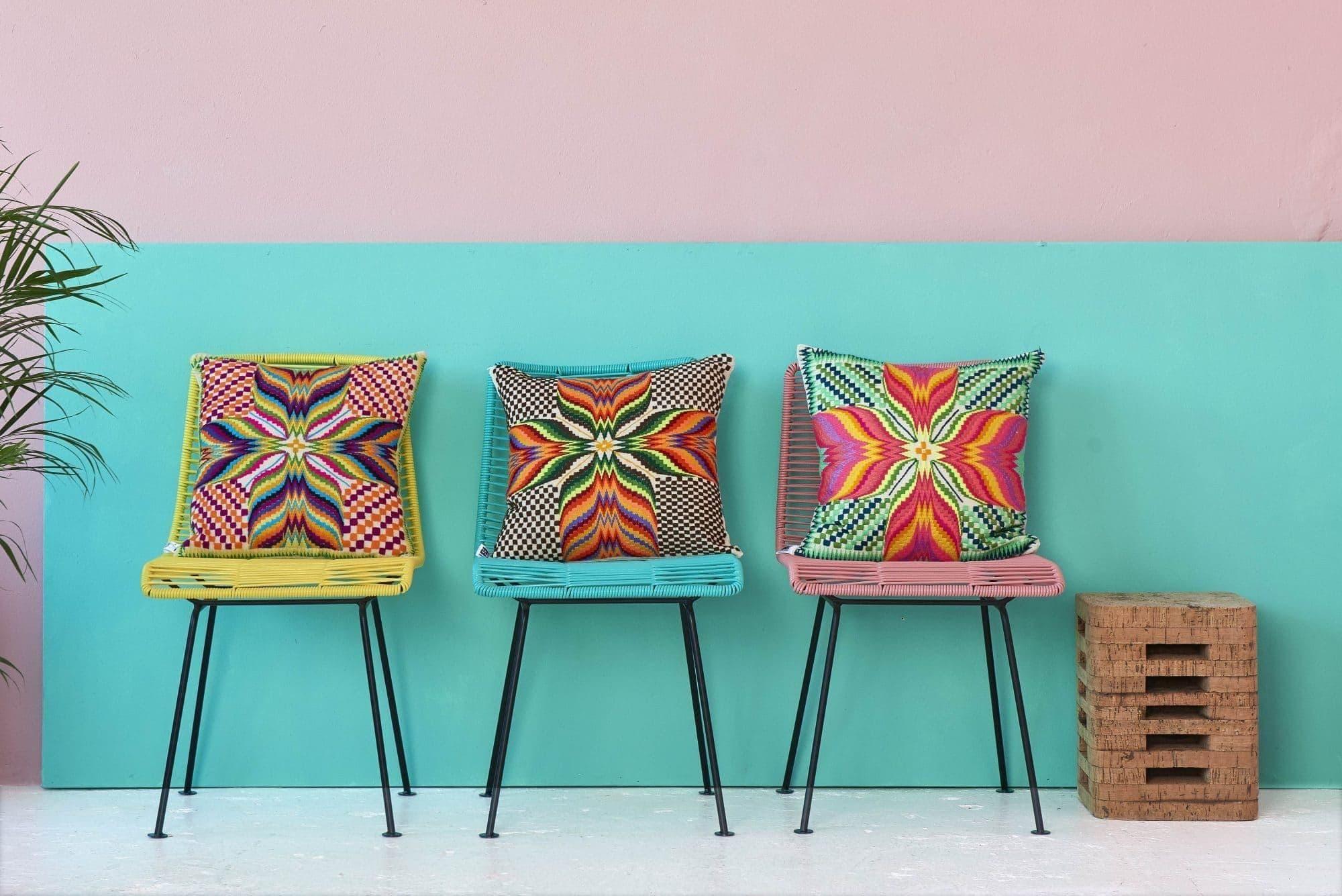 Rosarito stoelen op rij Fair Furniture