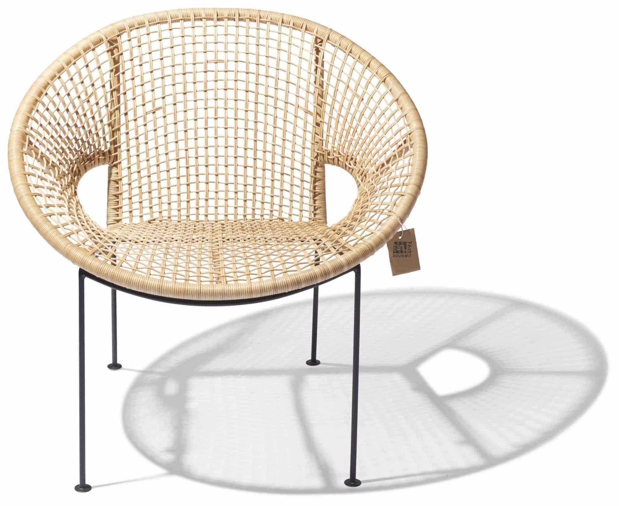 Ubud chair rotan front Fair Furniture