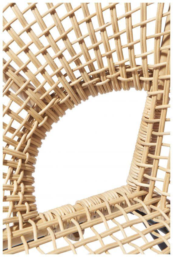 Ubud chair detail weave Fair Furniture