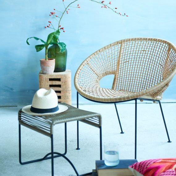 Ubud chair with cork stool Fair Furniture