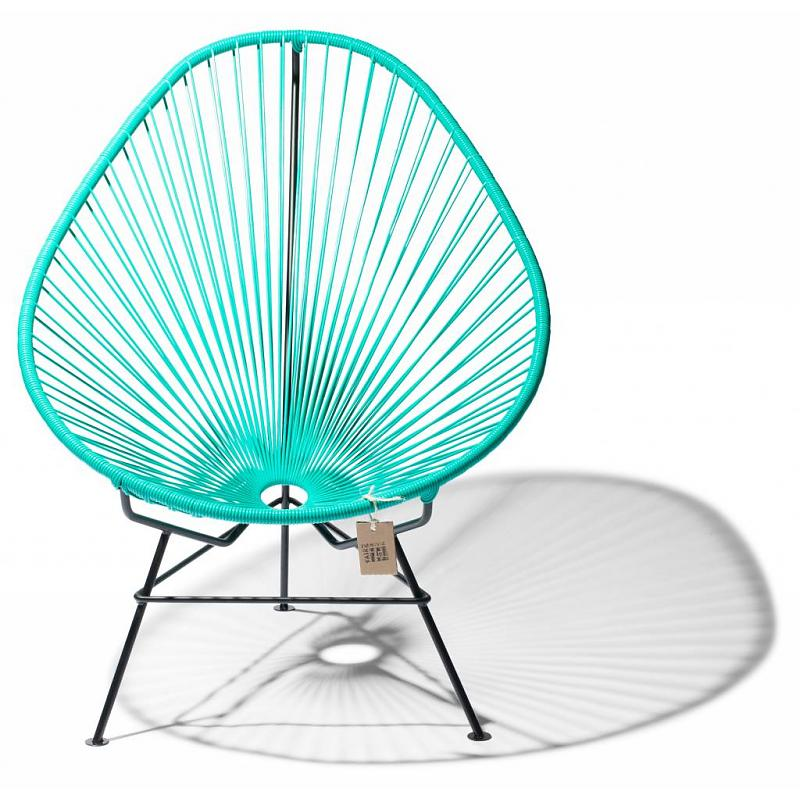 Original Acapulco chair in turquoise color