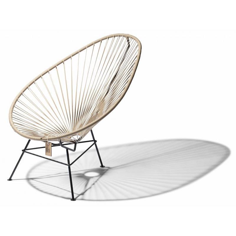 Hand-woven Acapulco chair beige Fair Furniture