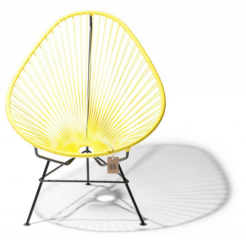 Acapulco chair canary yellow