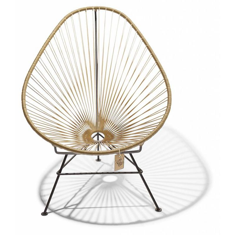 Acapulco lounge chair gold color Fair Furniture