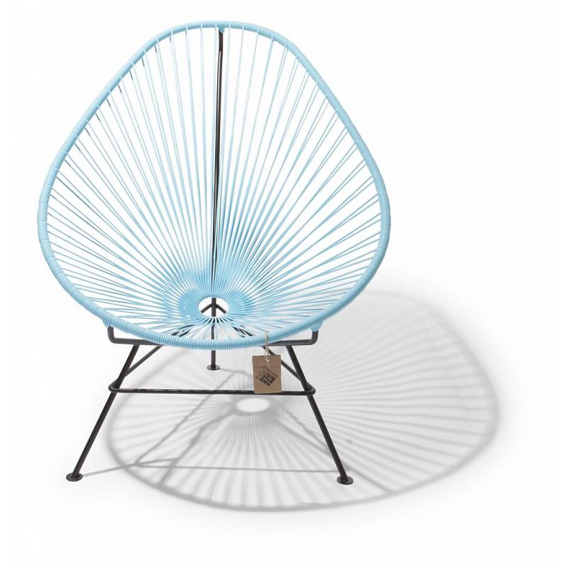 Fair Furniture lounge chair pastel blue