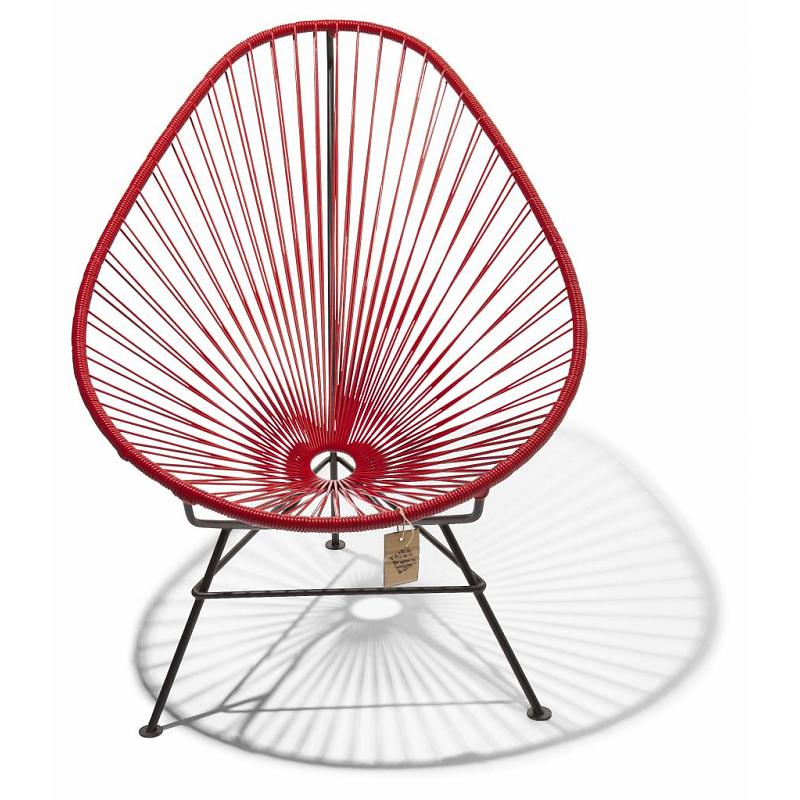 Red Acapulco lounge chair
