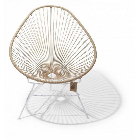 Acapulco Stuhl acapulco chair beige white frame fairfurniture com