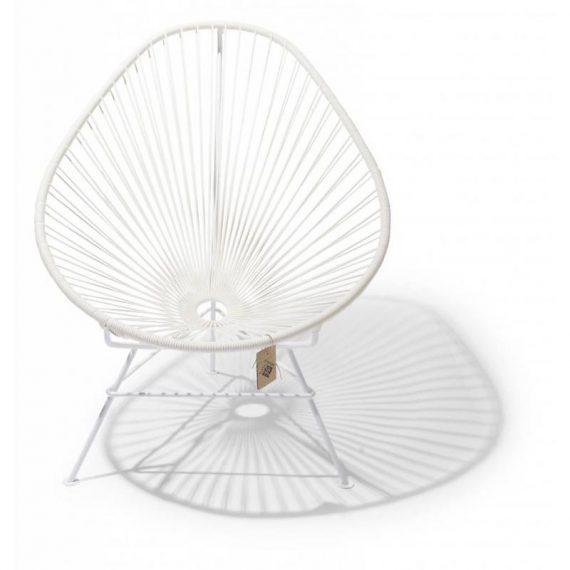 Acapulco chair, white, white frame Fair Furniture