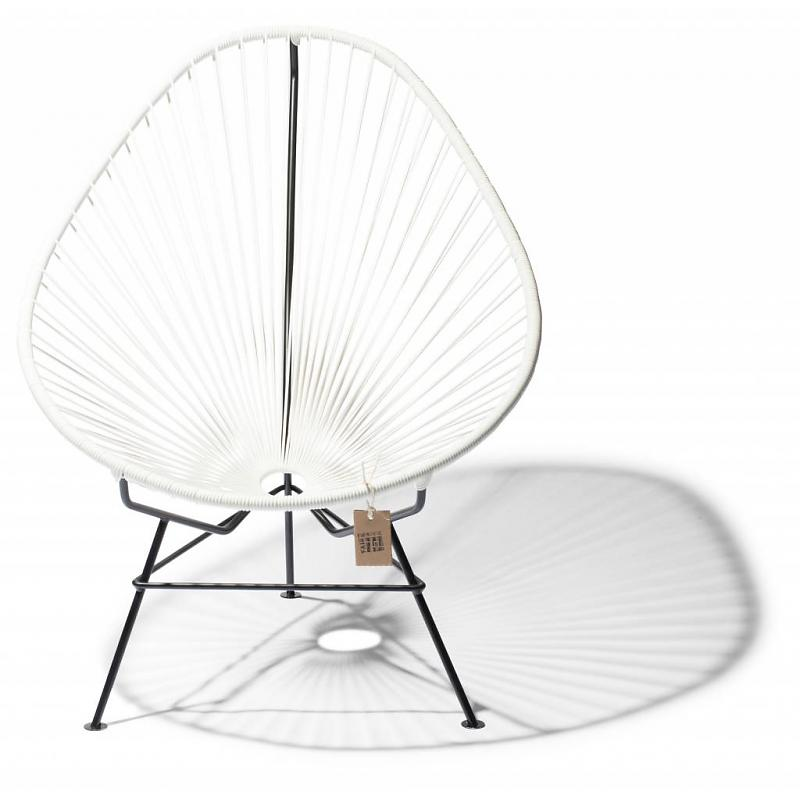 Classical white Acapulco chair