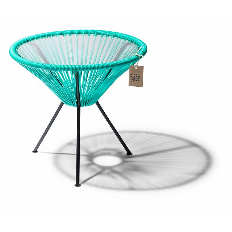 Fair Furniture side table turquoise