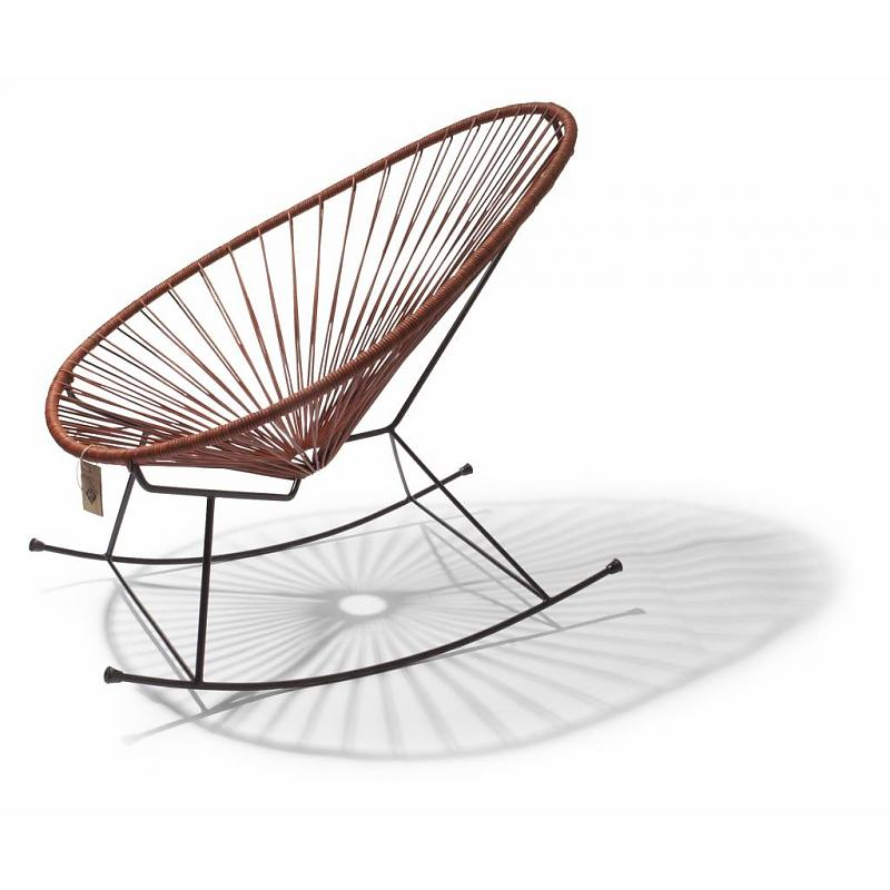 Acapulco rocking chair - leather