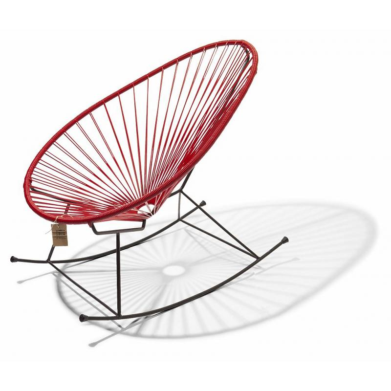 Beau Acapulco Rocking Chair Red
