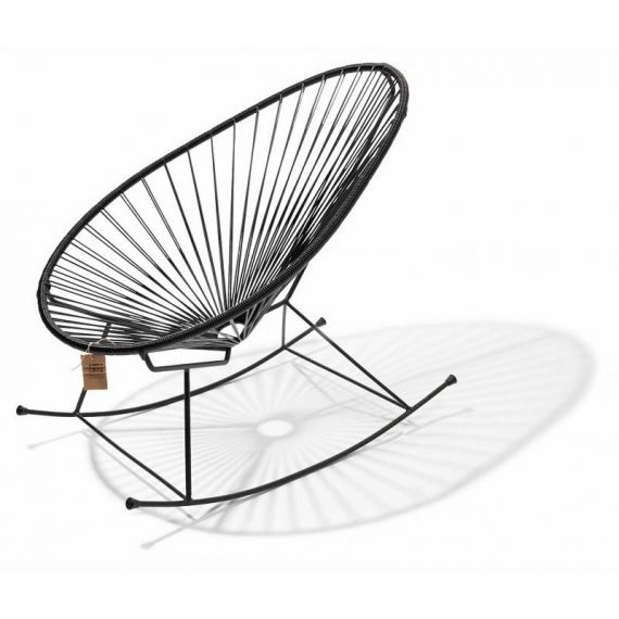 Black Acapulco rocking chair Fair Furniture