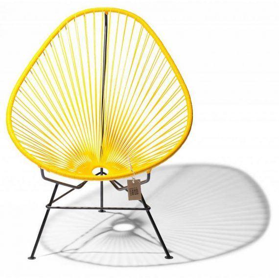 Baby/kids Acapulco chair yellow 2