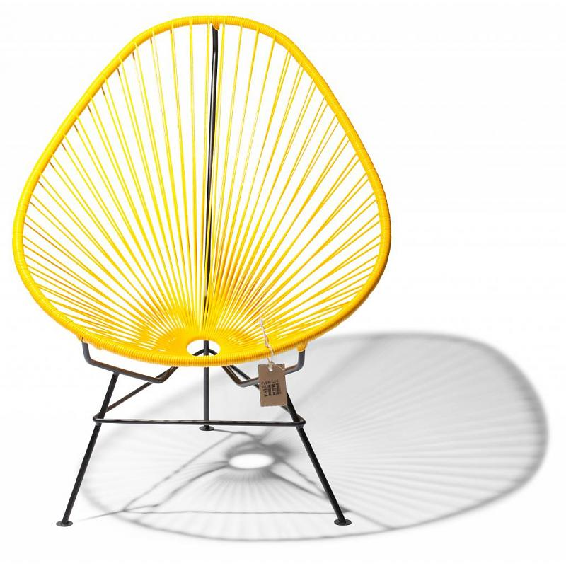 Baby/kids Acapulco chair yellow 2
