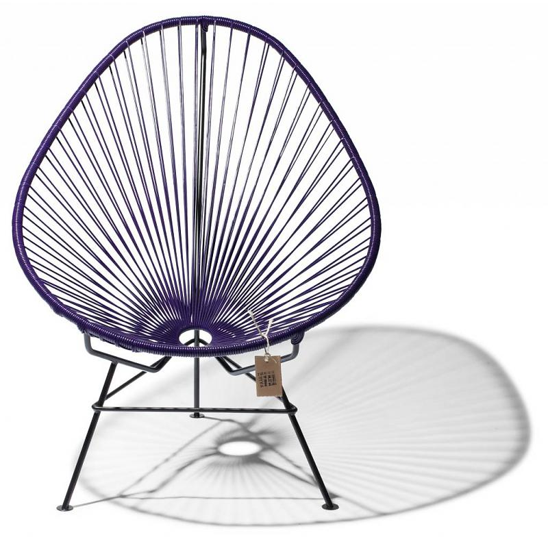 Original Acapulco chair purple