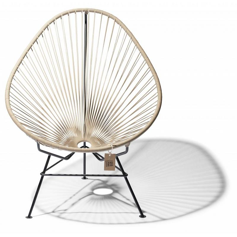 Hand-woven Acapulco chair beige Fair Furniture