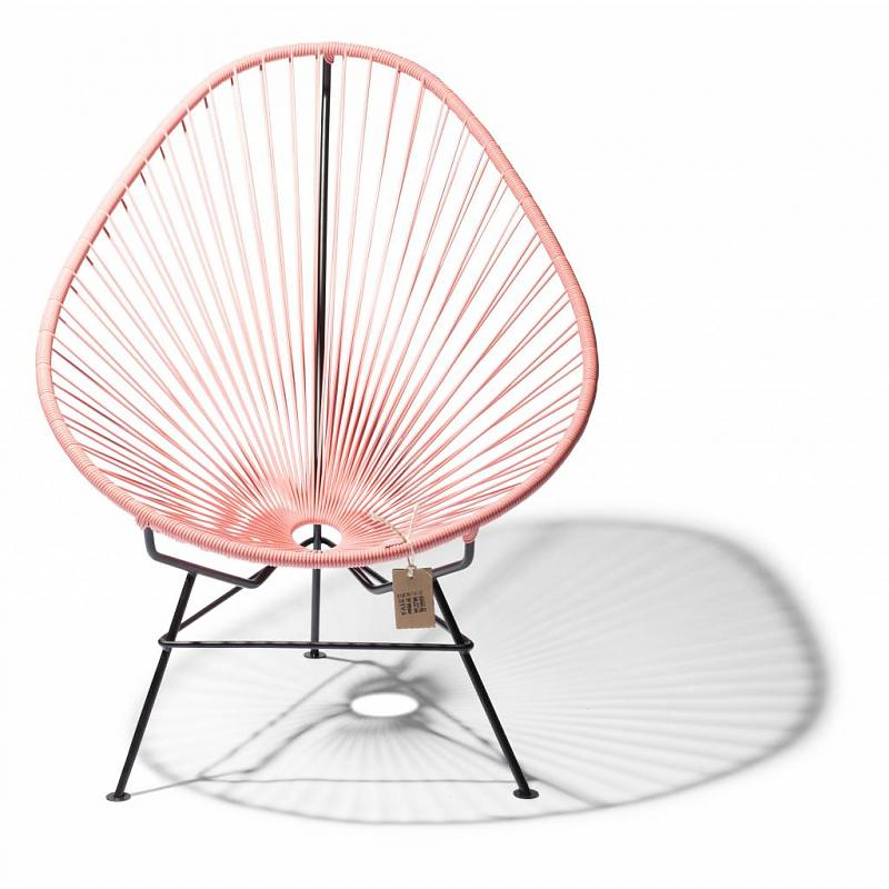 Acapulco chair salmon pink Fair Furniture