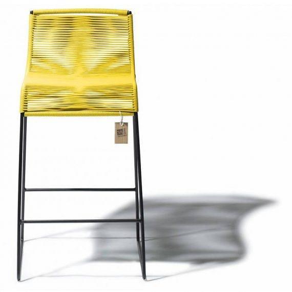 Barstoel geel 2
