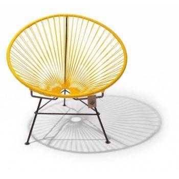 Condesa chair yellow
