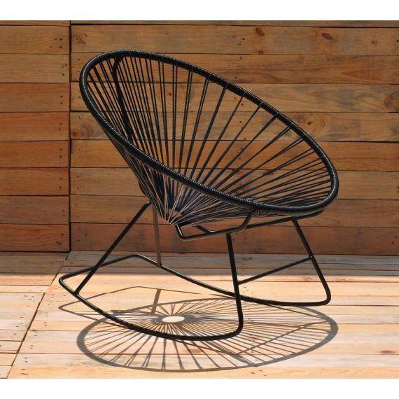 Black rocking chair Fair Furniture