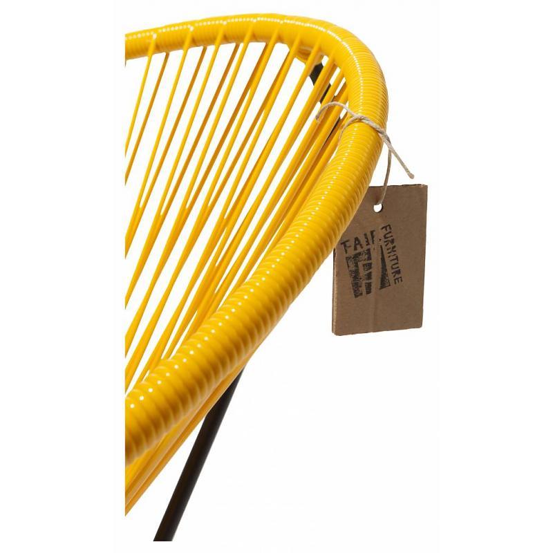 Sedia a dondolo condesa giallo for Dichiarazione di missione adobe