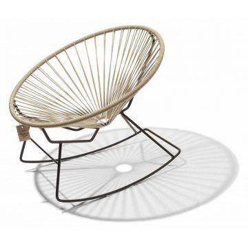 Condesa schommelstoel beige