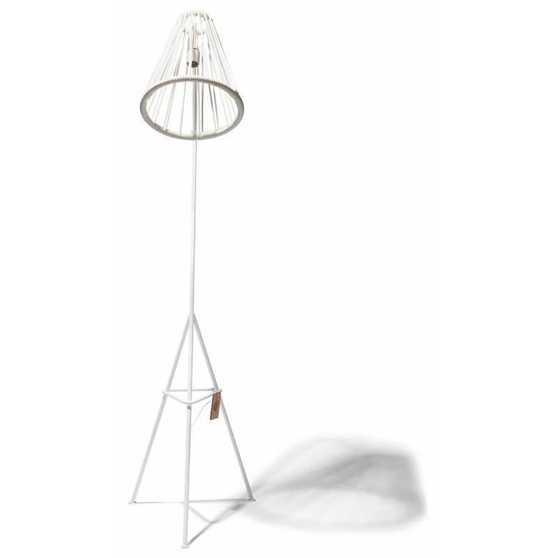 Fair Furniture Floor lamp Kahlo white 2