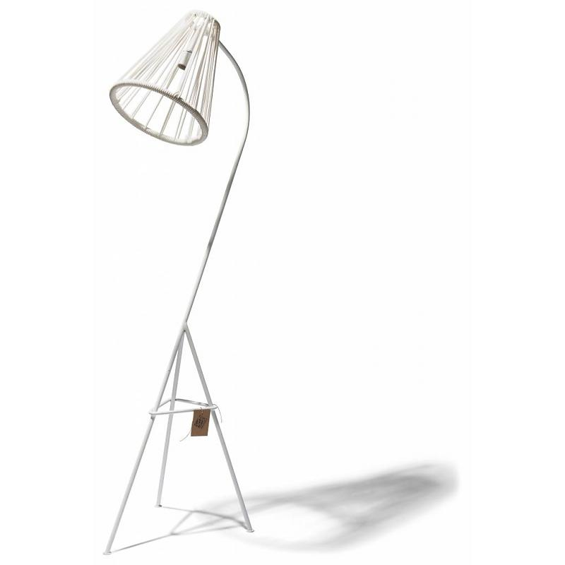 Fair Furniture Floor lamp Kahlo white