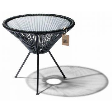 Mesa auxiliar negra Fair Furniture