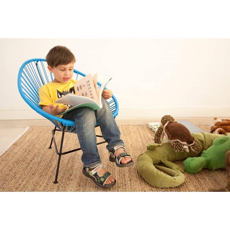 Playfull blue baby Chair Fair Furniture