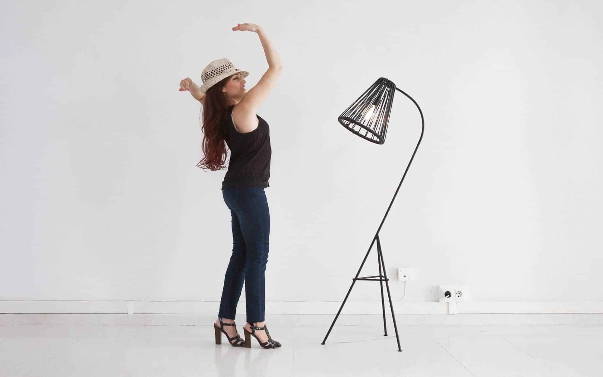 Girl with lamp Fair Furniture