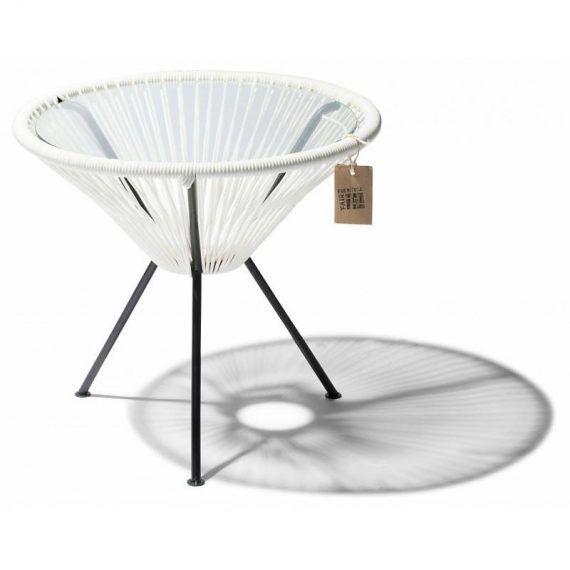 White Japón side table Fair Furniture