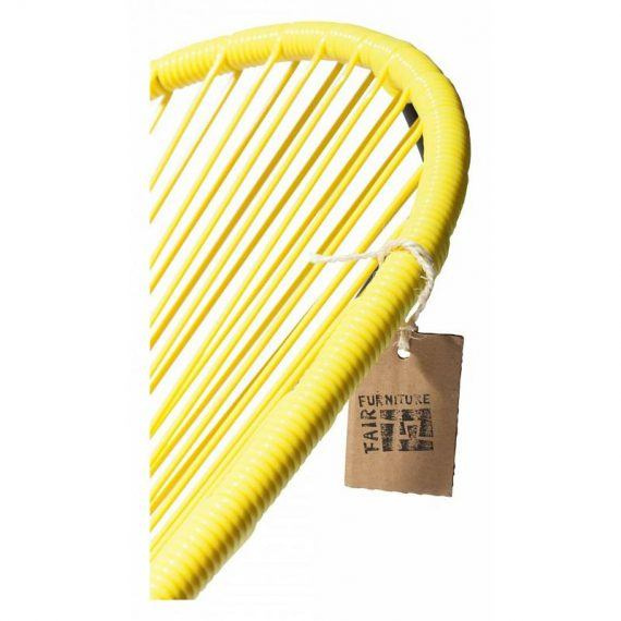 Cords Acapulco chair canary yellow