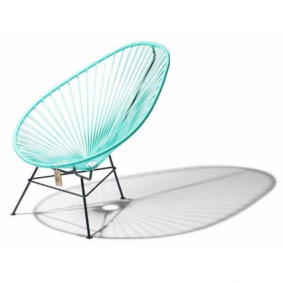 Acapulco chair in light turquoise