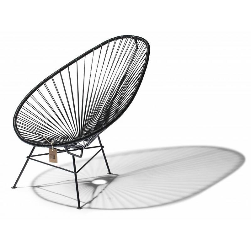classic black version of the original Acapulco chair