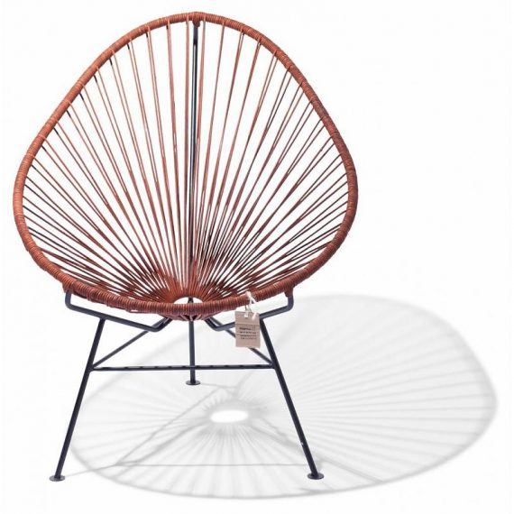 Leather Acapulco chair by Fair Furniture