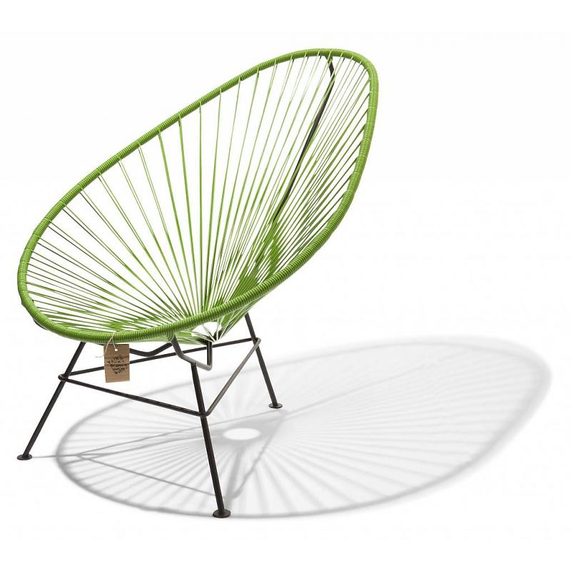 Original Acapulco chair in olive green color 2