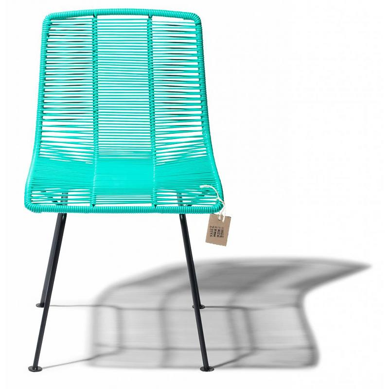 Rosarito dining chair turquoise by Fair Furniture