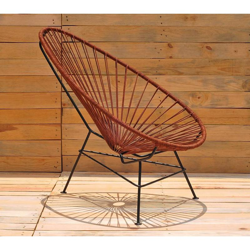 acapulco chair leather