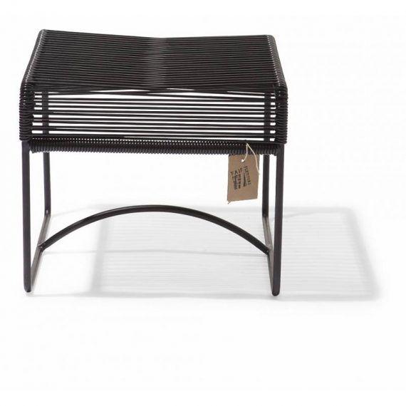 Xalapa bench & footstool Fair Furniture black