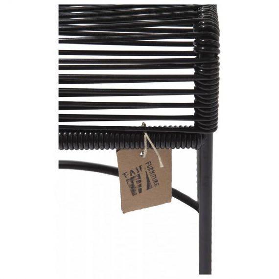 detail footstool black Fair Furniture