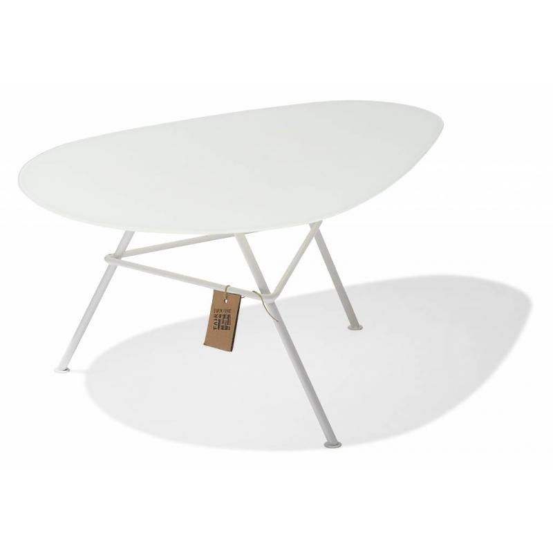 Table Zahora Glass - White 1
