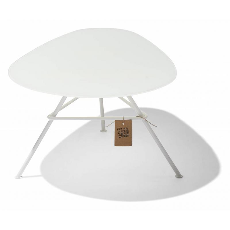 Table Zahora Glass - White 2