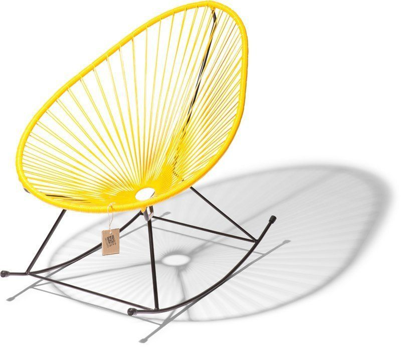 Acapulco rocking chair yellow