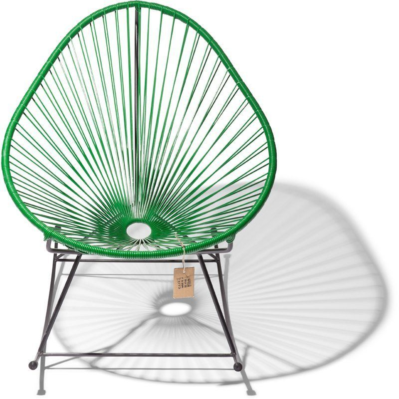 Acapulco rocking chair dark green